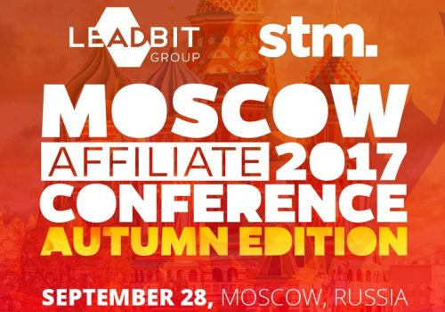 Moscow Affiliate Conference and Party Autumn 2017 Edition.